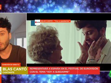 """El emotivo homenaje de Blas Cantó a su abuela que interpretará en Eurovisión: """"Era como mi madre y se la llevó el COVID"""""""