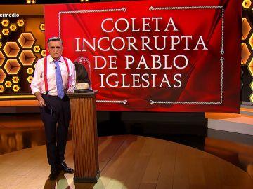 """""""La coleta incorrupta de Pablo Iglesias"""