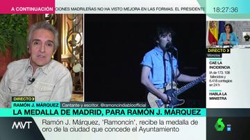 Ramoncín responde a Vox tras rechazar que le den la Medalla de Madrid
