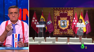 """Wyoming analiza """"cómo se despellejan"""" ante los medios Almeida y González, delegada del Gobierno en Madrid"""