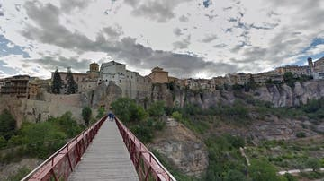 Imagen de las Casas Colgadas de Cuenca